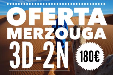 OFERTA MERZOUGA 180€