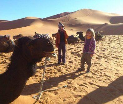 Fin de año Marruecos con niños