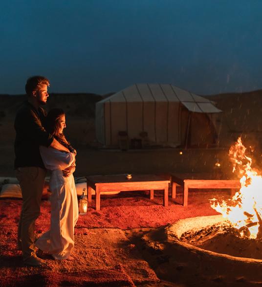 Fin de año en el desierto de Merzouga