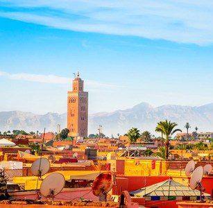 Viaje fin de año a Marrakech