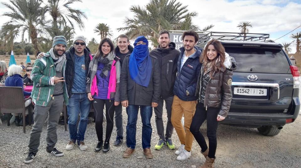 excursion desierto merzouga en grupo habla hispana